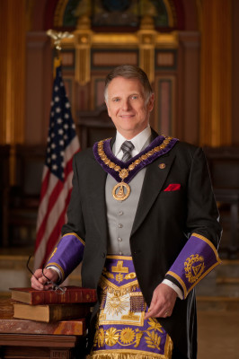 Most Worshipful William J. Thomas, Grand Master Masons in the State of New York