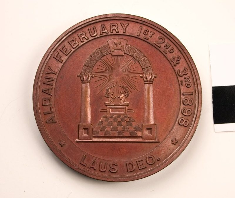1898 Centennial Coin, Grand Chapter State of New York, Royal Arch Masons